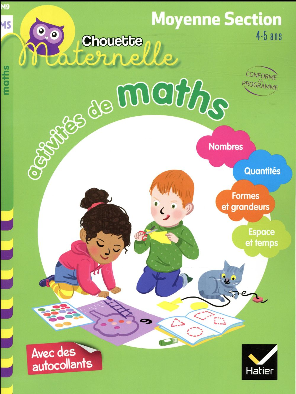 ACTIVITES DE MATHS MOYENNE SECTION